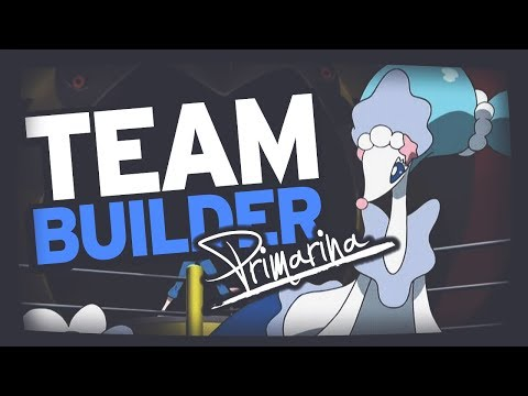 Pokemon Team Building | Sun & Moon | Popplio, Brionne & Primarina