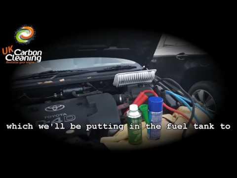 Toyota Avensis D4D excessive smoking & EGR valve clogging