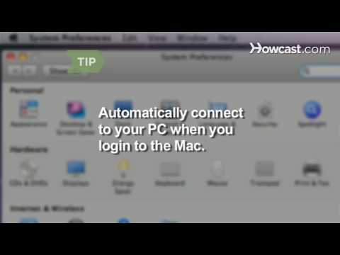 How to Share Files Between a Mac and a PC