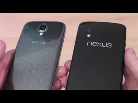 Samsung Galaxy S4 vs Google Nexus 4 Comparison