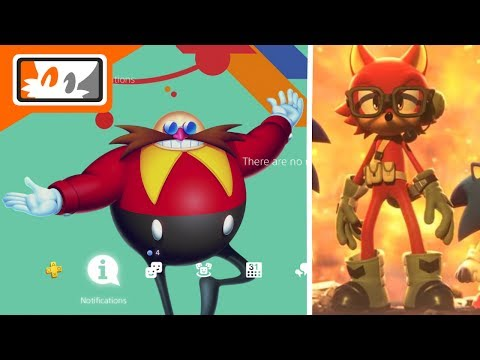 Sonic Mania PS4 Themes & Avatars Included with Pre-Order / New Sonic Forces Music Revealed!