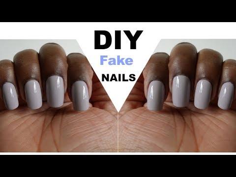 DIY: Fake Nails (NO Glue or Acrylic)
