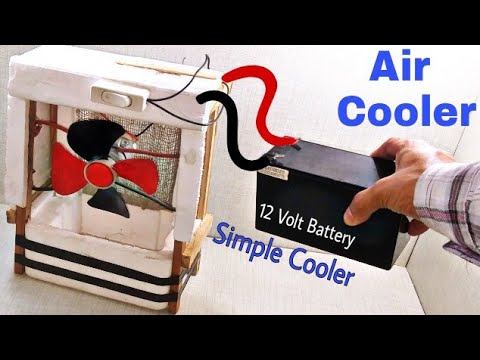 Home Made Super Cooler || How to Make Cooler At Home Air Cooler || Learn everyone