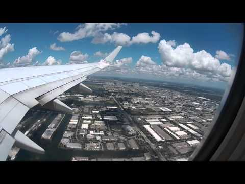 Miami to Punta Cana Takeoff American Airlines