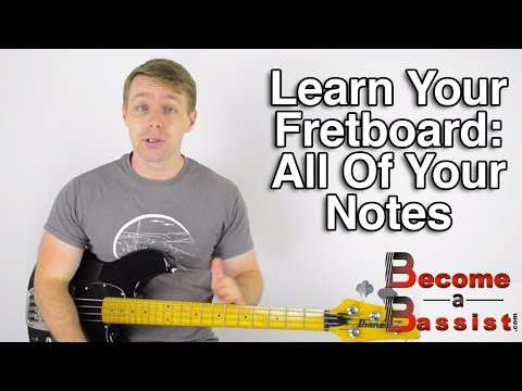 Learn Your Fretboard: How To Find All The Notes On Your Bass