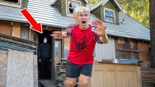 WE ESCAPED THE GAME MASTER TOP SECRET ABANDONED HOUSE!!