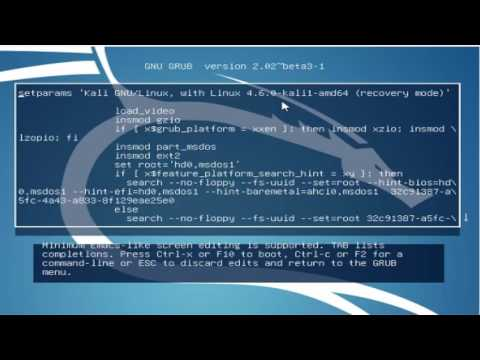How to Reset Lost Password in Kali Linux||How to Reset Kali Linux Password2017[Tamil Hacking Tricks]