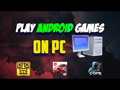 PLAY ANDROID GAMES ON YOUR PC [VOICE TUTORIAL]