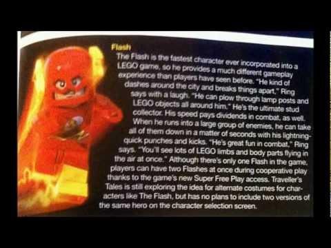 Flash And Aquaman Info For Lego Batman 2