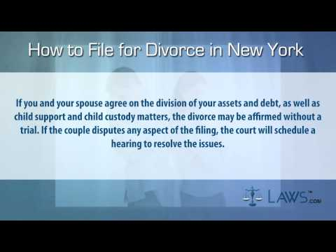 How to file for divorce in New York