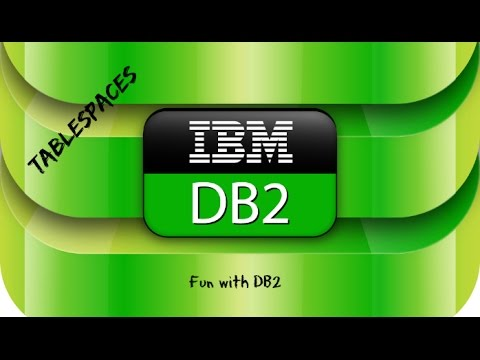 DB2 Basics Tutorial Part 15 - Tablespaces