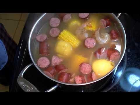 Shrimp Boil for Two
