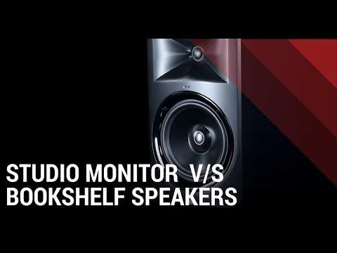What's the Difference? - Studio monitors vs Bookshelf Speakers