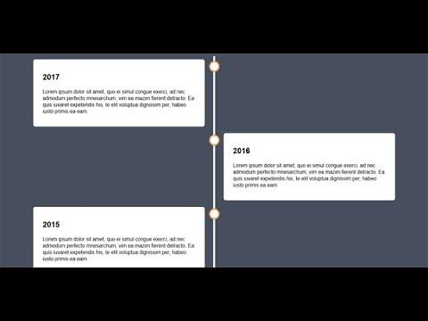 Alternating Vertical Timeline Using Css, Web Design Timeline Template, Make A Timeline, Part-3