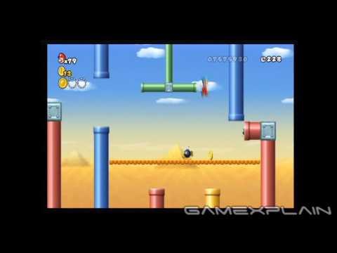 New Super Mario Bros Wii Level 9-4 Star Coins