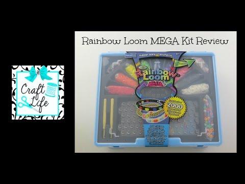 Craft Life Rainbow Loom Walmart Loominator MEGA Kit Review & Easy Bead & Charm Bracelet Tutorial