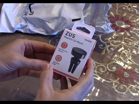 nonda ZUS Magnetic Car Mount - Phone / GPS Holder (iPhone and Samsung)