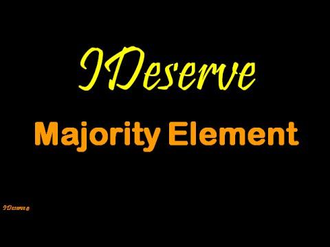 Find Majority Element in an Array