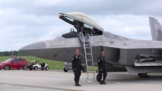 F-22 Raptor Launch: 2018 Air Power Over Hampton Roads (Sunday)