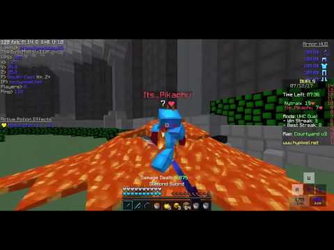 How To Use Lava Buckets The Right Way! | Minecraft Duels Hypixel