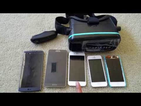 How To Install Apple iPod Touch, iPhone 7 Plus Note 7 Android on VR 360 3D Headset 2016