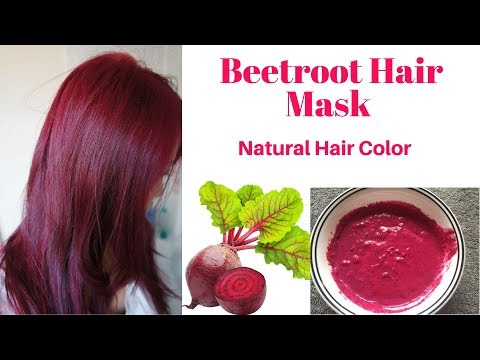 Natural Beetroot hair mask | Get long, silky, soft & smooth & healthy hair | DIY Hair Color | AVNI