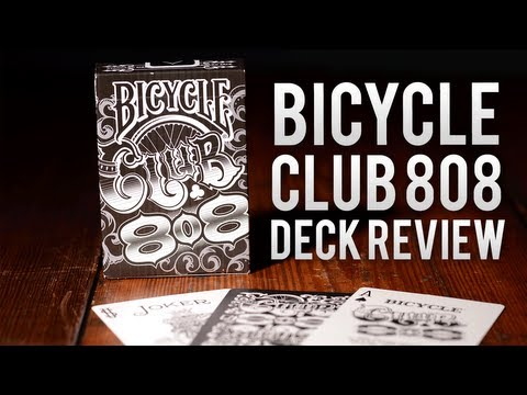 Deck Review - Bicycle Club 808 Playing Cards