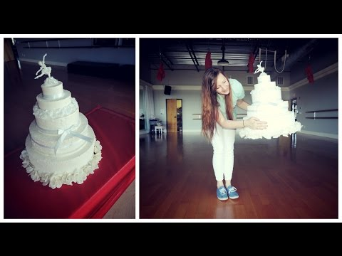 DIY Giant Fake Cake