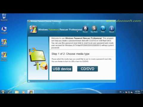 Windows Server 2008 R2 Password Reset - Reset Domain or Local Password