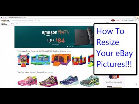eBay Tutorial | How To Resize Pictures For eBay | eBay Power Seller Tips