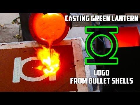 Making 'Gold' Green Lantern Logo