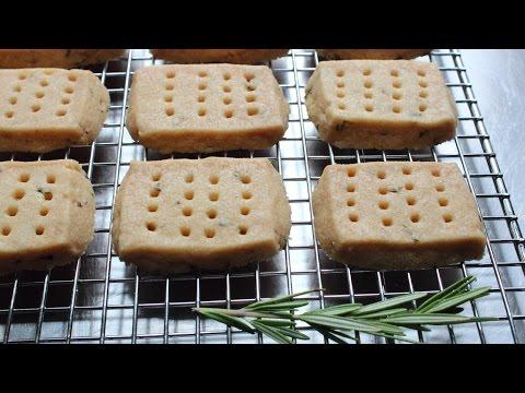 Rosemary Shortbread Cookies - How to Make Shortbread Cookies