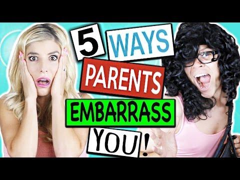 5 WAYS PARENTS EMBARRASS YOU! (+ Giveaway)