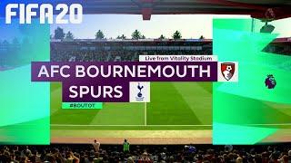 FIFA 20 - AFC Bournemouth vs. Tottenham Hotspur @ Vitality Stadium
