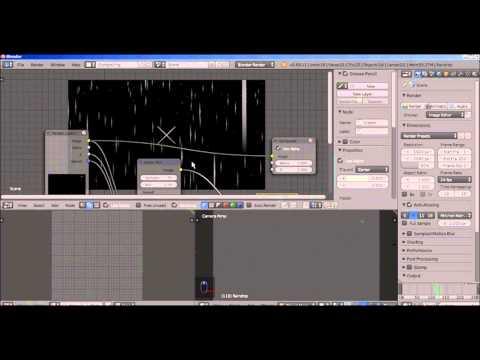 Make Rain for the Blender Game Engine