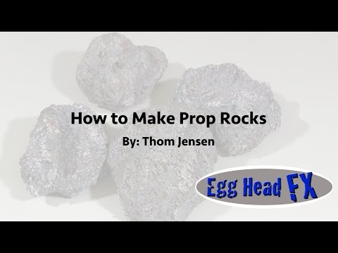 How To Make A Prop Rock
