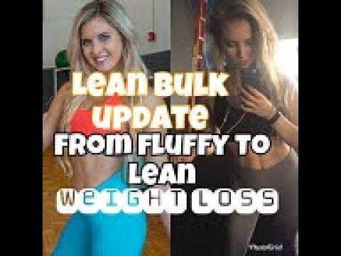 How I did a LEAN BULK (10lb difference!) Post Bikini Comp