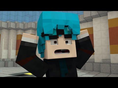 DanTDM Turns His Hair Blue!! - The Diamond Minecart ( Minecraft Animation)