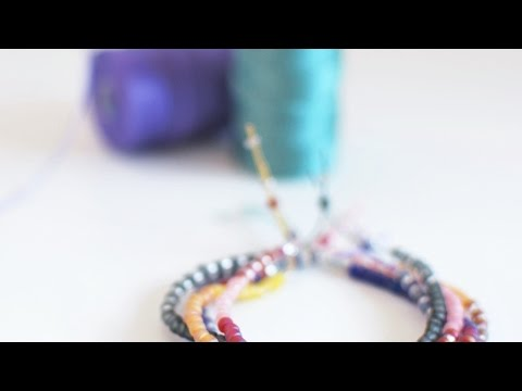 How To Make a Boho Seed Bead Friendship Bracelet - DIY Style Tutorial - Guidecentral