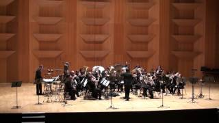 Paris Brassband. Championnat de France 2013, Lyon. Dir. Florent DIDIER