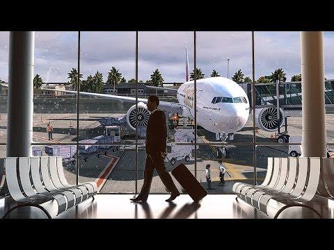 New Flight Simulator 2018 | Worlds Longest Flight | 13,410 KM - 8,332 Miles [Spectacular Realism]
