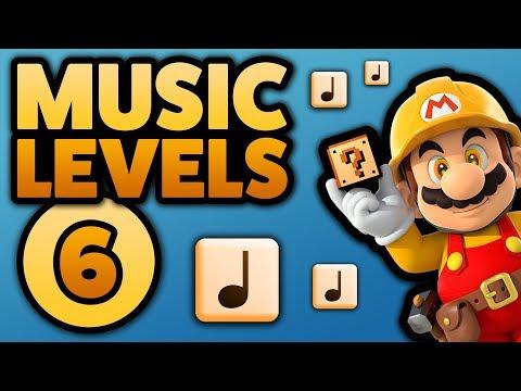 Super Mario Maker - MUSIC LEVELS [#6] - Star Wars // Mario Galaxy // MORE!