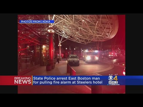 State Police Make Arrest After Fire Alarm Pulled At Steelers Hotel
