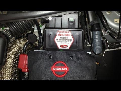 Atenção com a caixa do filtro de ar do NISSAN TIIDA e LIVINA