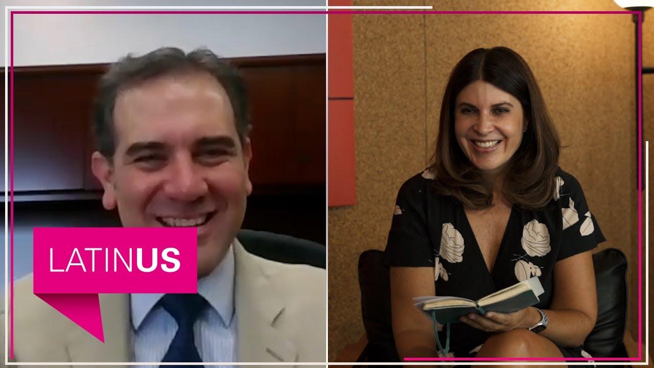 María Scherer entrevista a Lorenzo Córdova, consejero presidente del INE