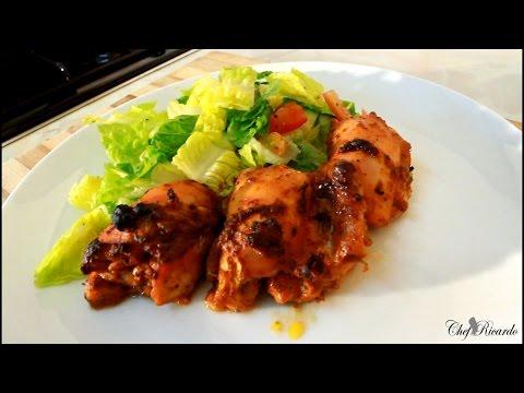 Jerk Chicken Salad Recipe For Summer [Jamaican Jerk Chicken] | Recipes By Chef Ricardo