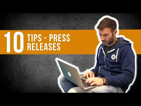 TOP 10 TIPS FOR SENDING OUT A BAND PRESS RELEASE