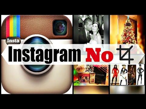 Instagram-How to Upload Uncropped Original Photos: Square Biz!