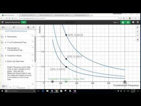 Speed of Sound Lab Calculator / Simulation