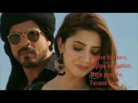 Xxx Mp4 Zaalima Raees VIDEO LYRICS Shah Rukh Khan Mahira Khan 3gp Sex